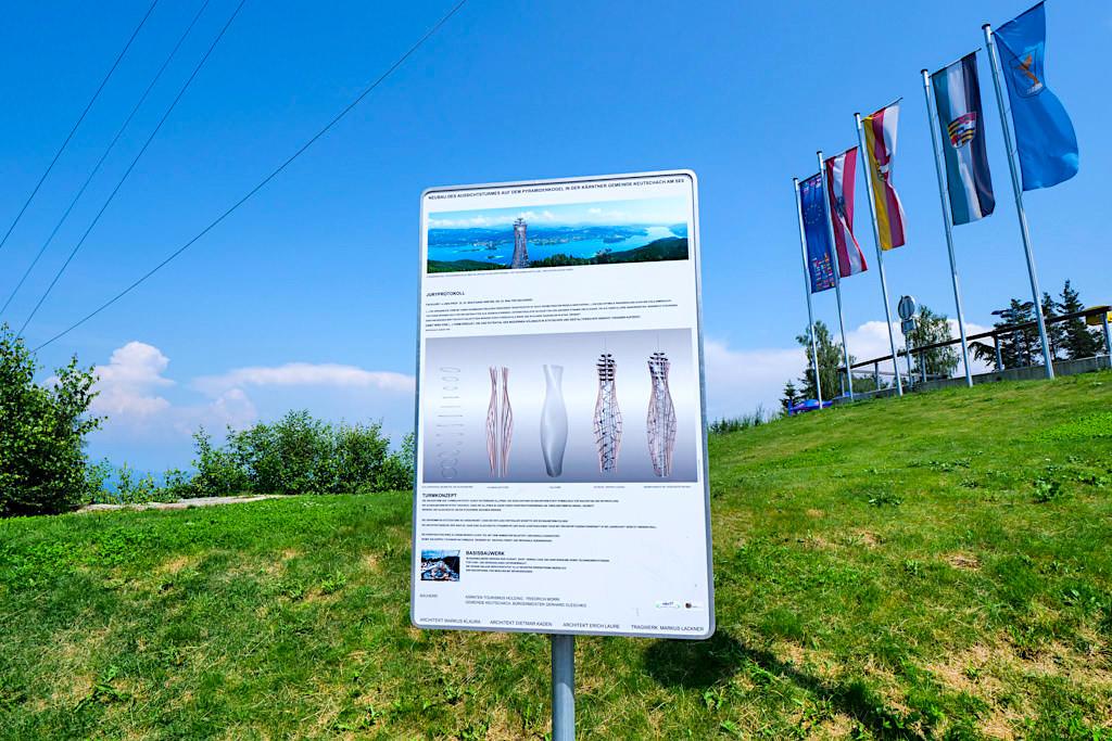 Pyramidenkogel - Konstruktion, Baukunstwerk & neues Wahrzeichen am Wörthersee - Kärnten, Österreich
