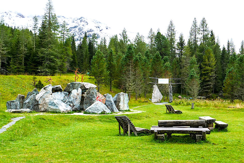 Silva Magica: Skulpturengarten und Erholungspark - Imposanter Skulpturenpark auf der Grundalm - Nockalmstraße - Kärnten, Österreich