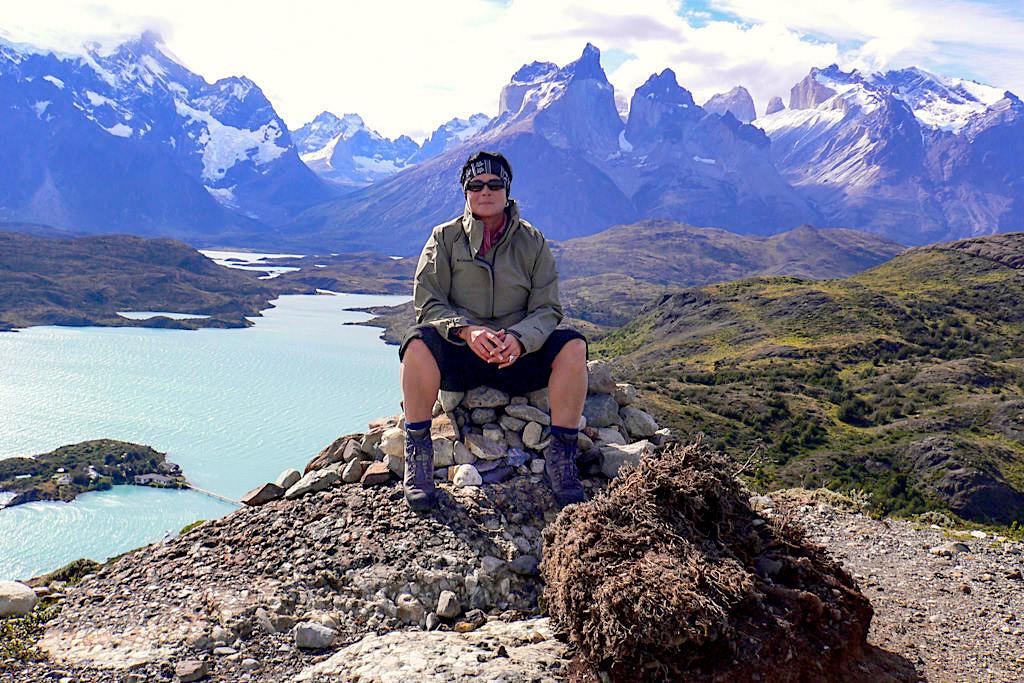 Torres del Paine - Kurzwanderungen mit dem Lowa Tibet GTX - Chile, Patagonien