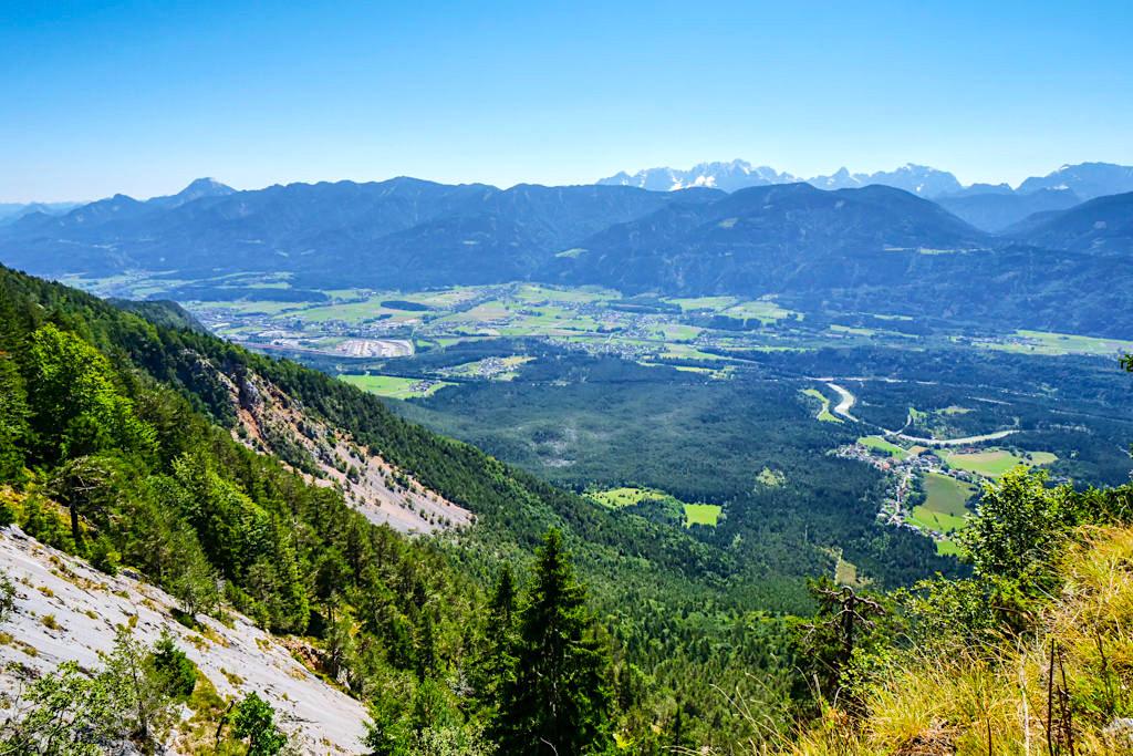 Villacher Alpenstrasse - Faszinierende Ausblicke auf Dreiländereck, Karawanken, Karnische Alpen & Julische Alpen - Kärnten, Österreich