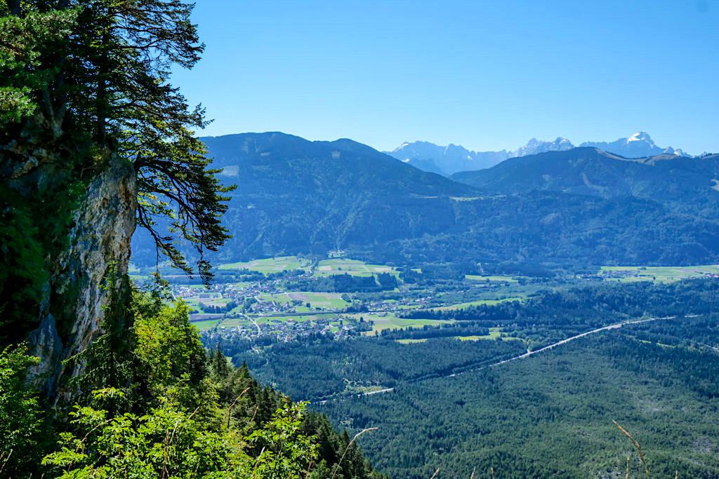 Villacher Alpenstraße - Faszinierende Ausblicke auf der Strecke zum Dobratsch: Karawanken - Kärnten, Österreich