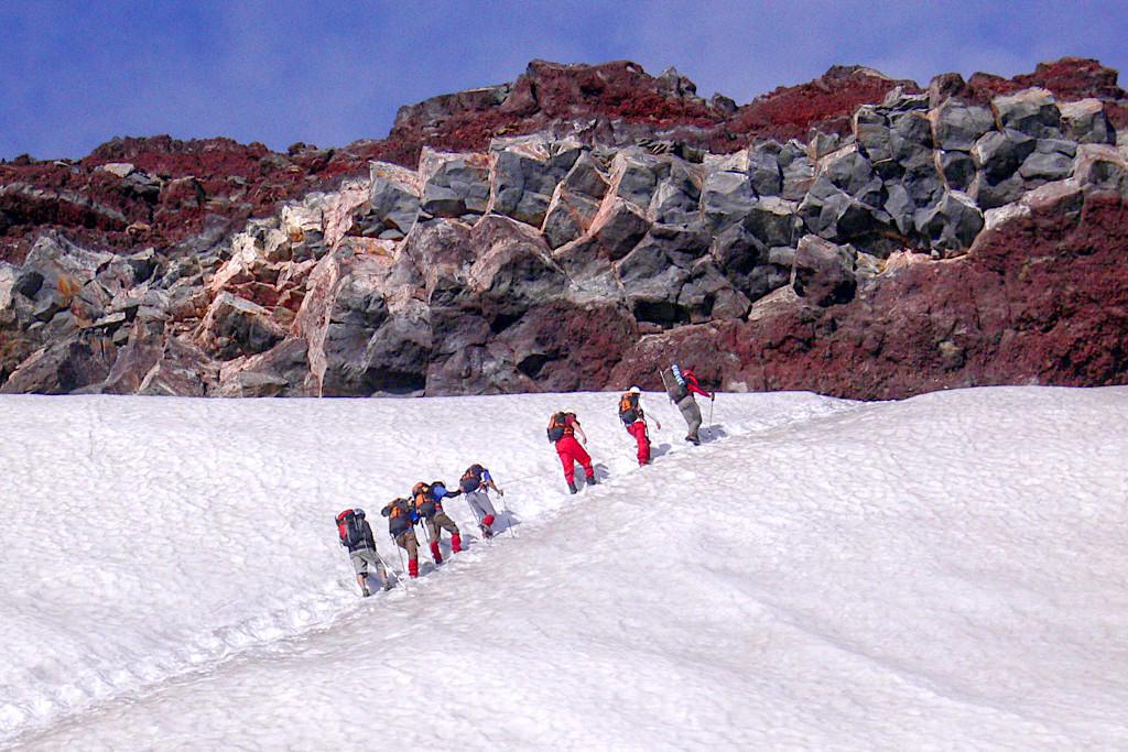Vulkan Villarrica - Besteigung & Faszinierende Bergtour - Lowa Tibet GTX mit Steigeisen -Chile