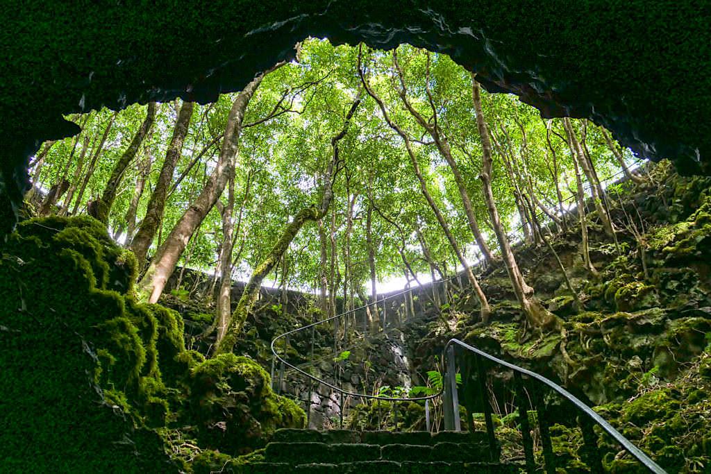 Gruta das Torres - Höhle der Türme: Abstieg in einen der bedeutendsten Lavatunnel Europas - Pico, Azoren