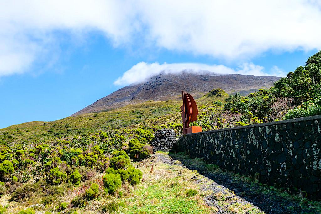 Pico Alto - Casa Montanha: Start der Pico Besteigung - Pico, Azoren