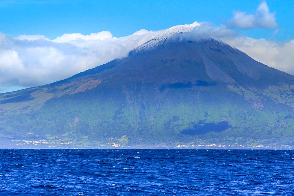 Pico - Insel & höchster Berg Portugals von der Südküste gesehen - Azoren