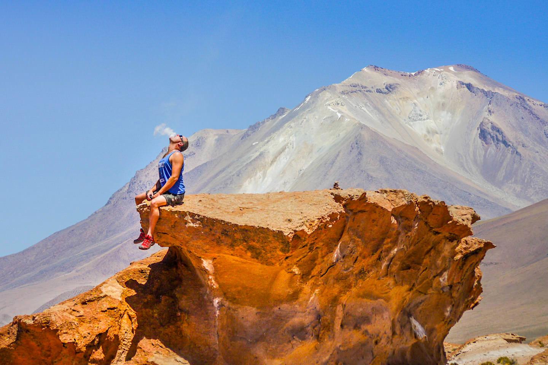 Auf dem Weg von Arequipa zum Colca Canyon vorbei an aktiven Vulkanen - Peru Highlights