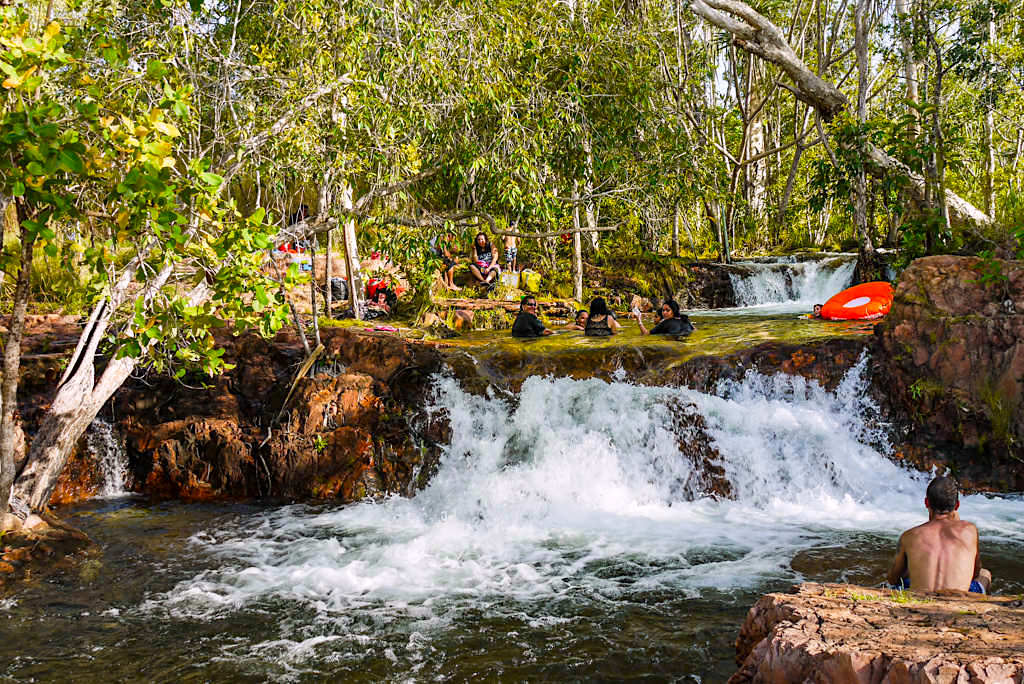 Burley Rockholes - Herrlicher Badespaß im Litchfield Nationalpark - Northern Territory