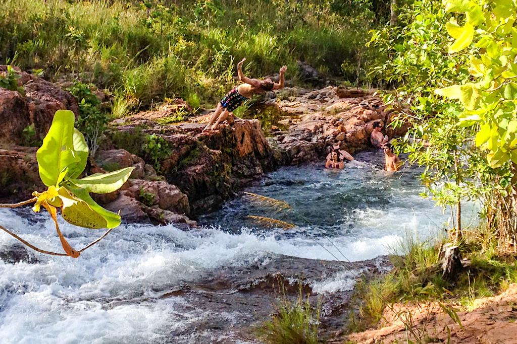 Burley Rockholes - Erfrischendes Highlight im Litchfield NP - Northern Territory