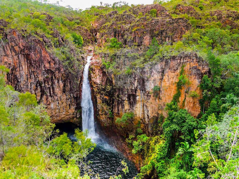Tolmer Falls - Litchfield National Park Sehenswürdigkeiten - Northern Territory