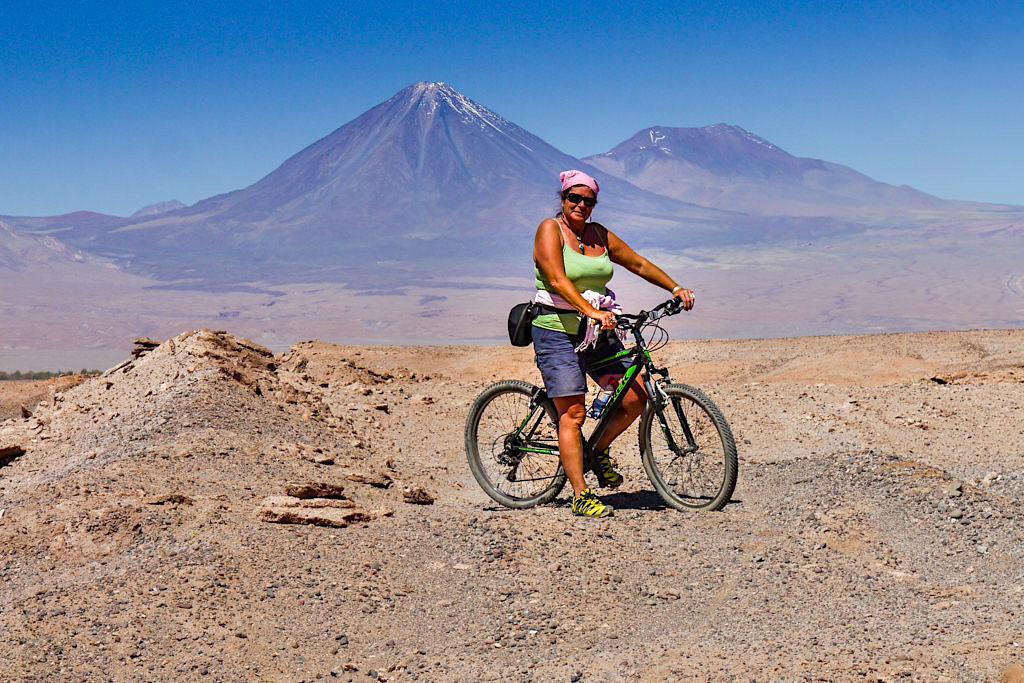 Salomon Trekkingschuhe XA Pro 3D - Abenteuer mit dem Fahrrad durch das Valle della Luna - Atacama Wüste in Chile