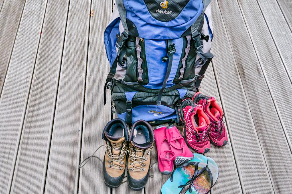 Ultimative Schuhauswahl für Langzeitreisen & Wanderurlaub - Passenger On Earth