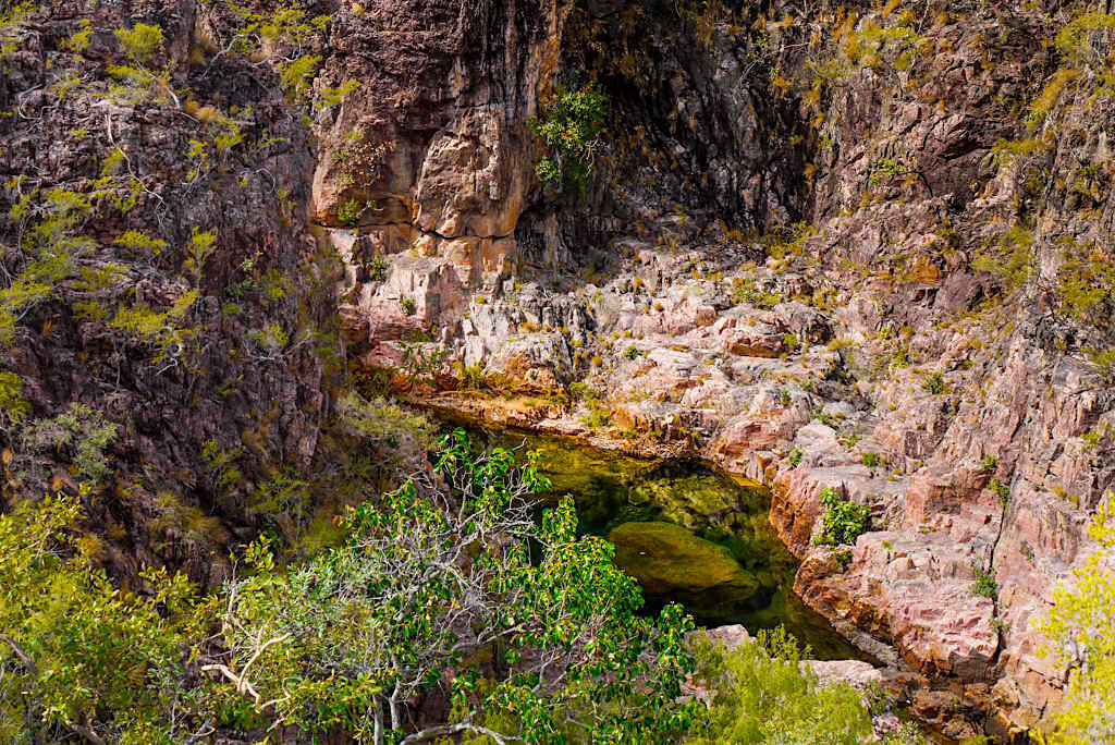 Tolmer Creek Walk - Ausblick in den Canyon - Litchfield Nationalpark Wanderung - Northern Territory