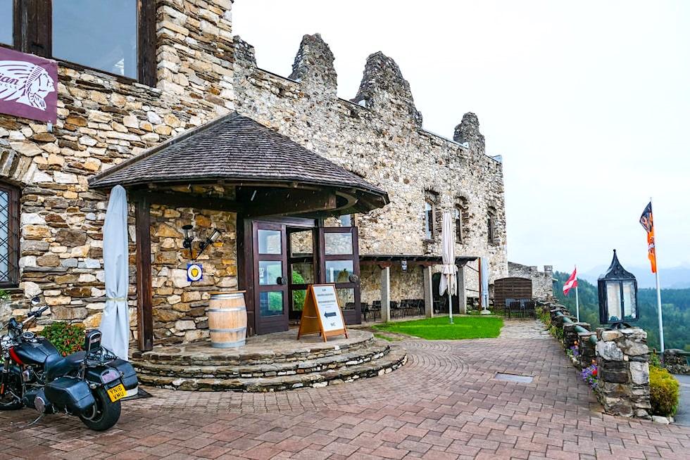Burg Landkron - Haubenrestaurant Kronensaal - Kärnten, Österreich