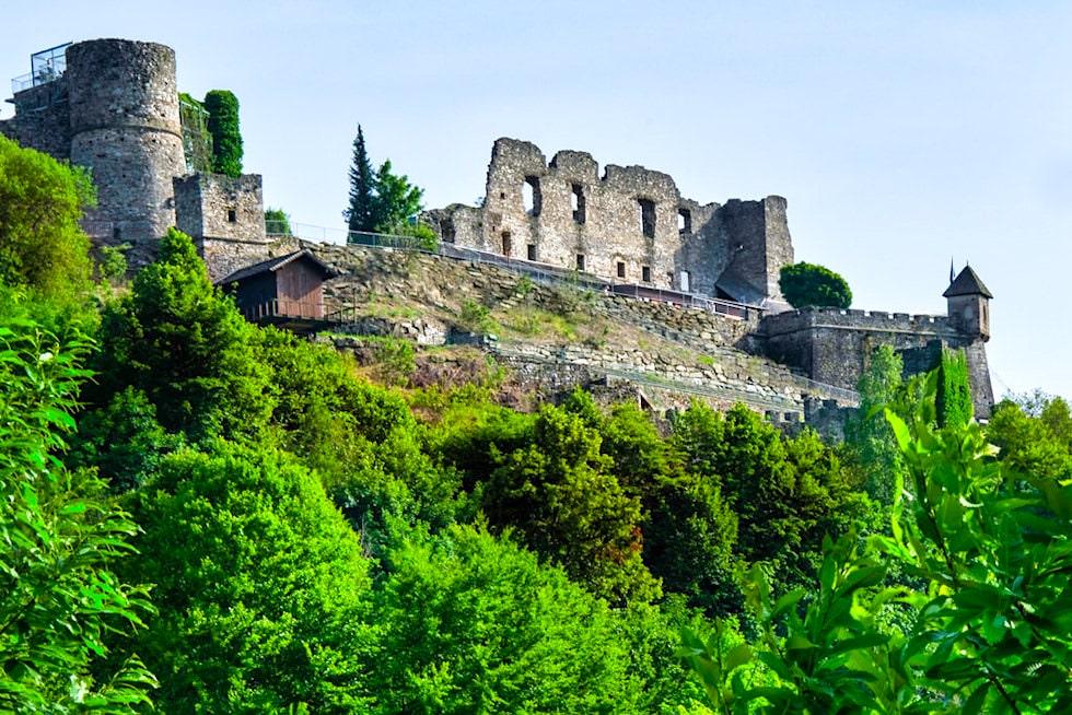 Burg Landkron Ruine - Kärnten, Österreich