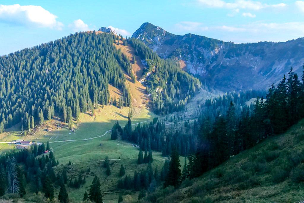 Alternativroute zum Risserkogel über den Röthensteingraben - Tegernsee, Bayern