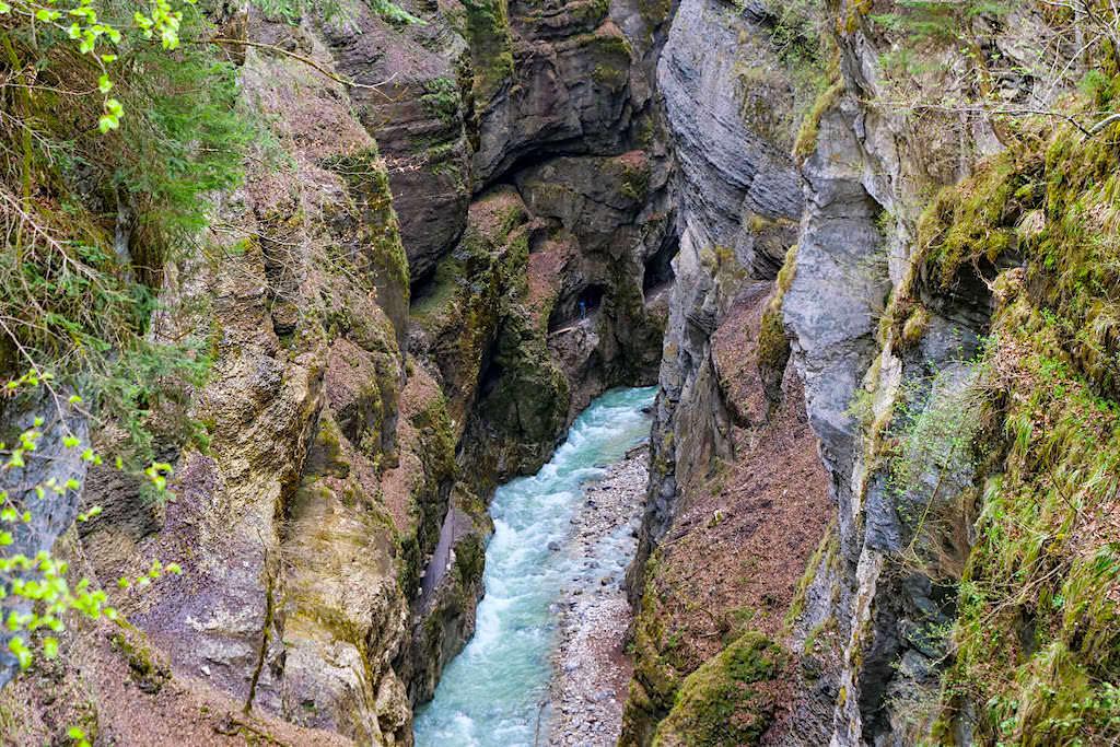 Eisener Steg - Atemberaubende Ausblicke in die Partnach-Schlucht & auf ihre Wege und Tunnel- Bayern