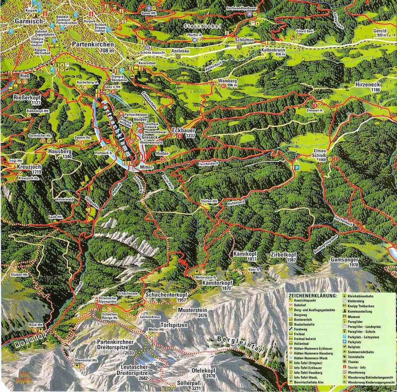 Partnachklamm Wanderungen - Garmisch-Partenkirchen, Bayern