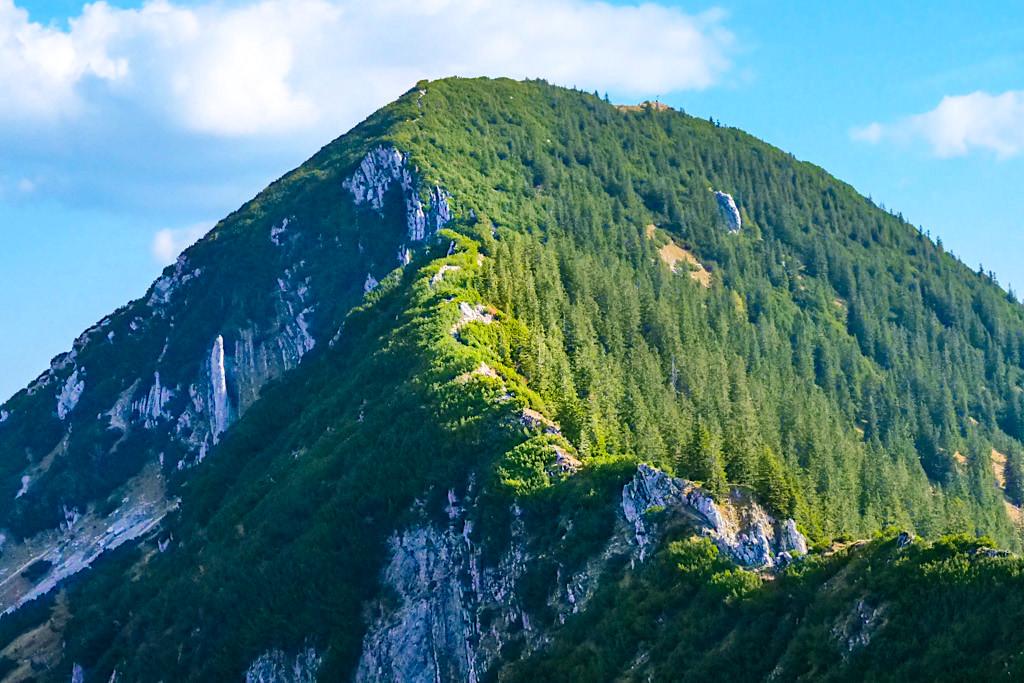 Risserkogel Wanderung - Ausblick über den Risserkogel Westgrat & Kamm - Tegernsee, Bayern