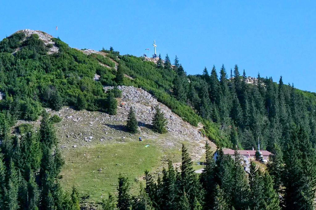 Wallberg Gipfel - der Aufstieg - Tegernsee - Bayern