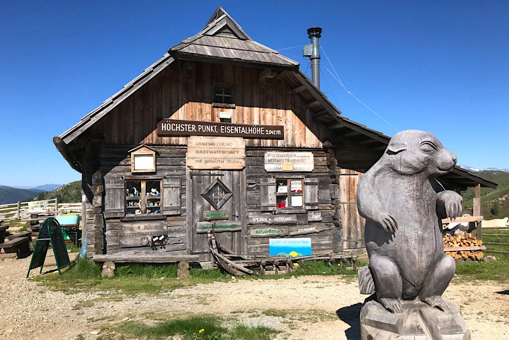 Eisentalhöhe - Höchster Punkt auf der Nockalm- Panoramastraße - Kärnten, Österreich