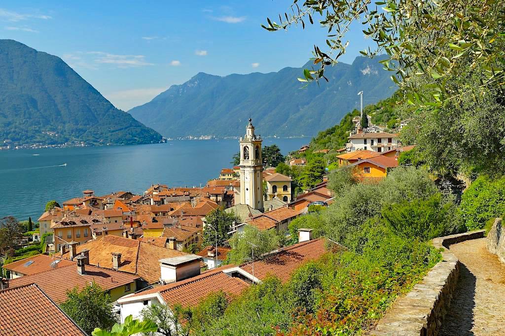 Greenway del Lago di Como - Schöner Spaziergang entlang dem Westufer - Lombardei, Italien