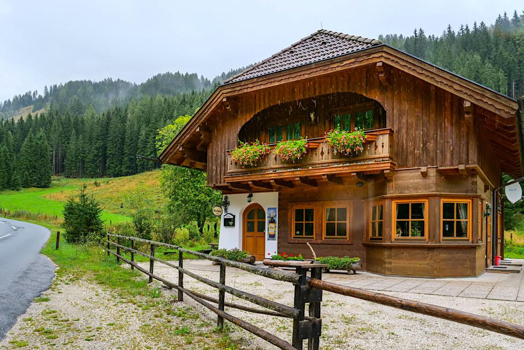 Nockalmstraße - Winklhütte - Kärnten, Österreich