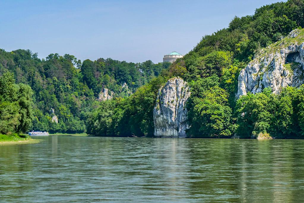 Donau Altmühltal Schifffahrt - Grandiose Ausblicke zwischen Kelheim bis Kloster Weltenburg - Bayern