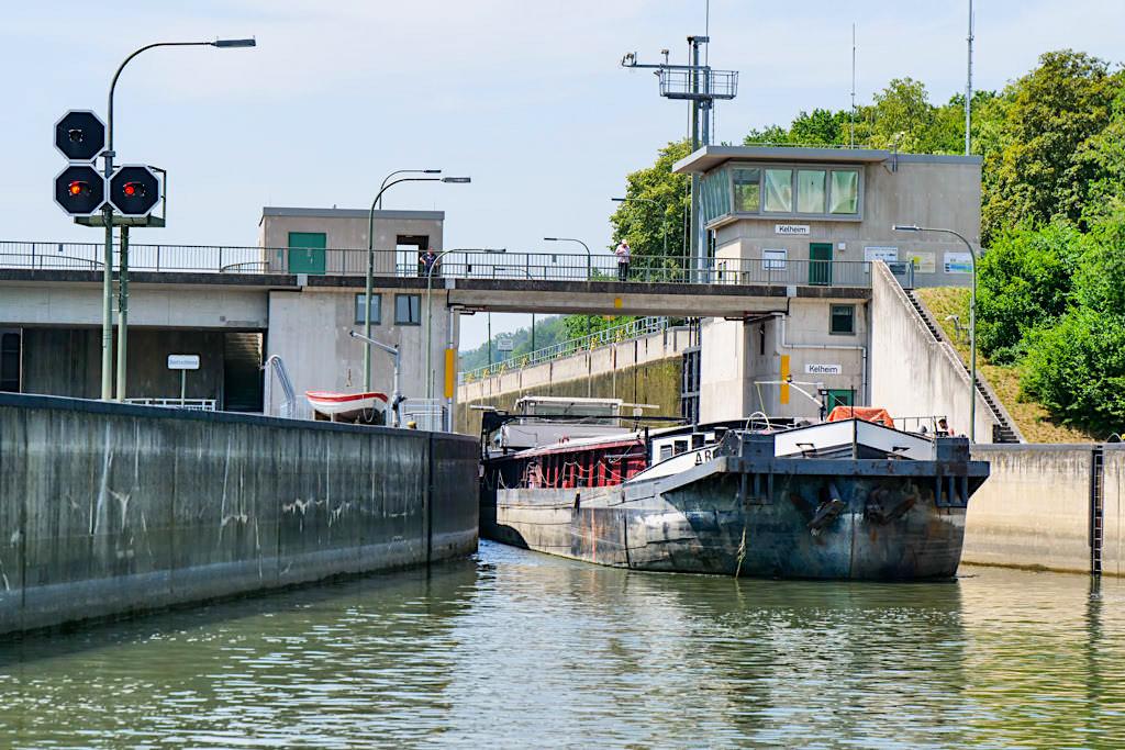 Schleuse Kelheim - Altmühl / Main-Donau-Kanal - Bayern