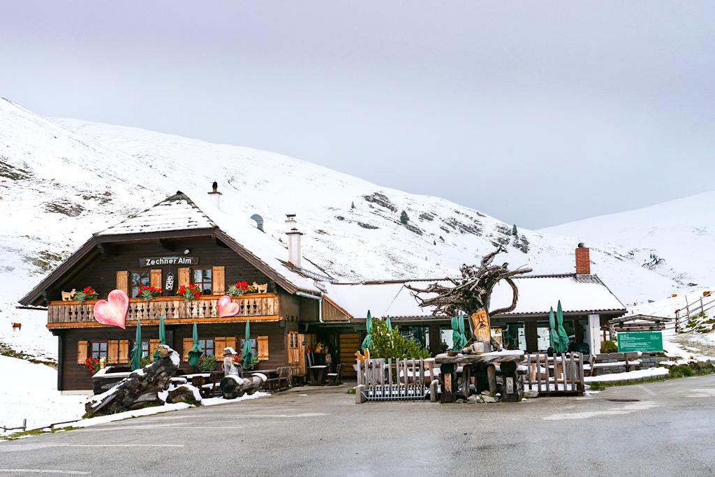 Zechneralm - Sehenswürdigkeiten entlang der Nockalmstrasse - Kärnten, Österreich