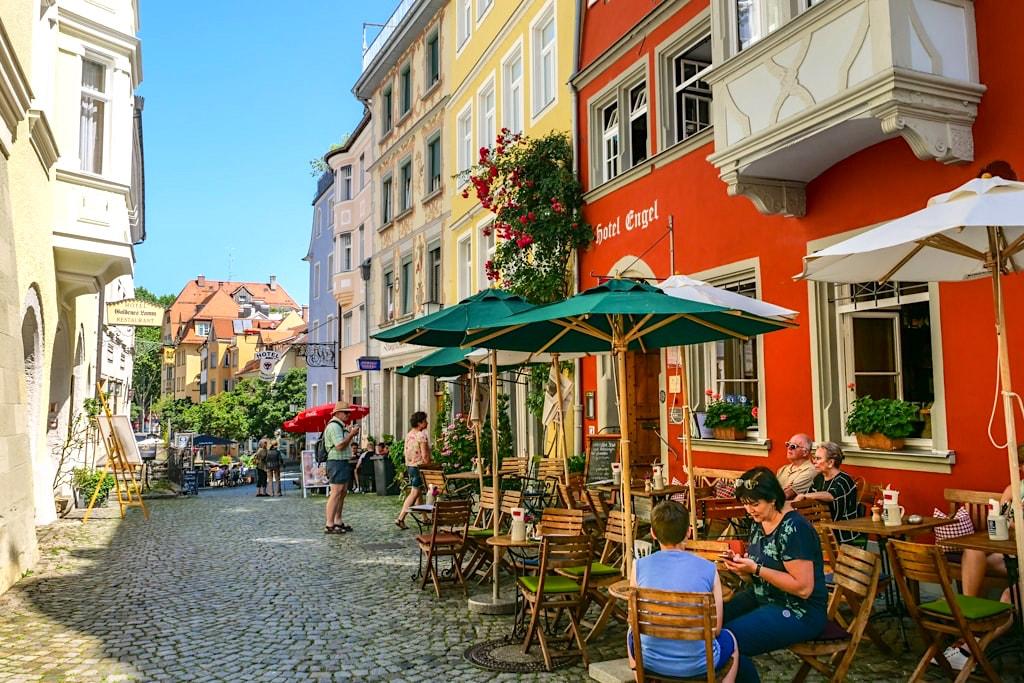 Altstadt von Lindau- Zwischenstopp & Stadtbummel bei der Dreiländer-Bodenseeschiffsfahrt - Bayern