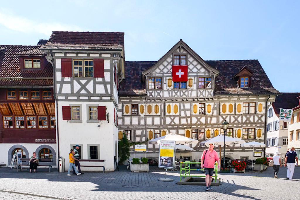 Arbon - Historische wunderschön restaurierte Altstadt - Das Schweizer-Highlight auf der Dreiländer-Bodenseeschiffsfahrt - Schweiz