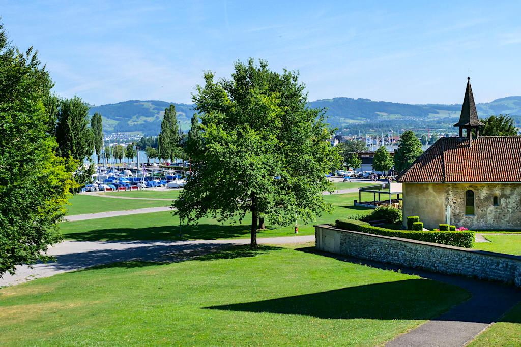Arbon - Schöner Hafen & grüne Uferpromenade laden zum Verweilen ein - Highlight auf der Dreiländer-Bodensee-Schiffsfahrt - Schweiz
