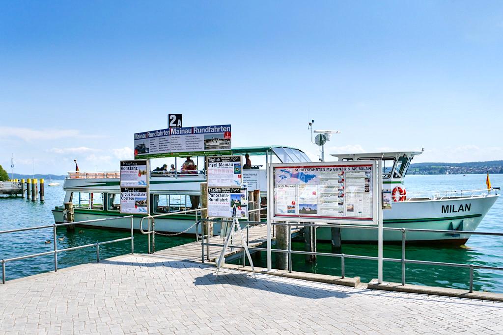 MS Milan - Bodenseeschifffahrt & Ausflugsschiff der Familie Held - Überlingen, Baden-Württemberg