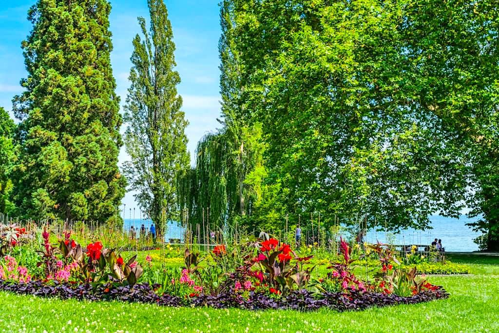 Insel Mainau im Sommer - Grandioses, buntes Blumenparadies am Bodensee - Baden-Württemberg