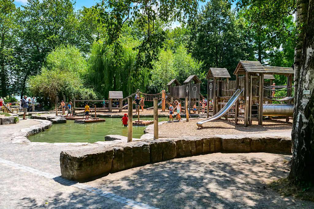 Mainau Kinderparadies - Wasserwelt sorgt für jede Menge Spaß & Abenteuer bei den Kindern - Baden-Württemberg