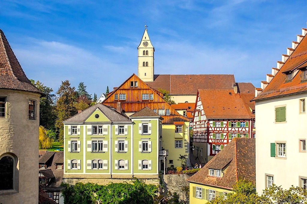 Meersburg & seine schöne Altstadt - Wo Parken in Meersburg? - Baden-Württemberg
