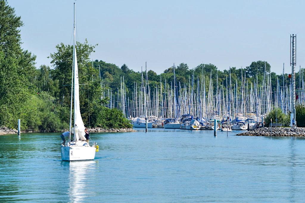 Natur-Yachthafen Langenargen - Baden-Württemberg