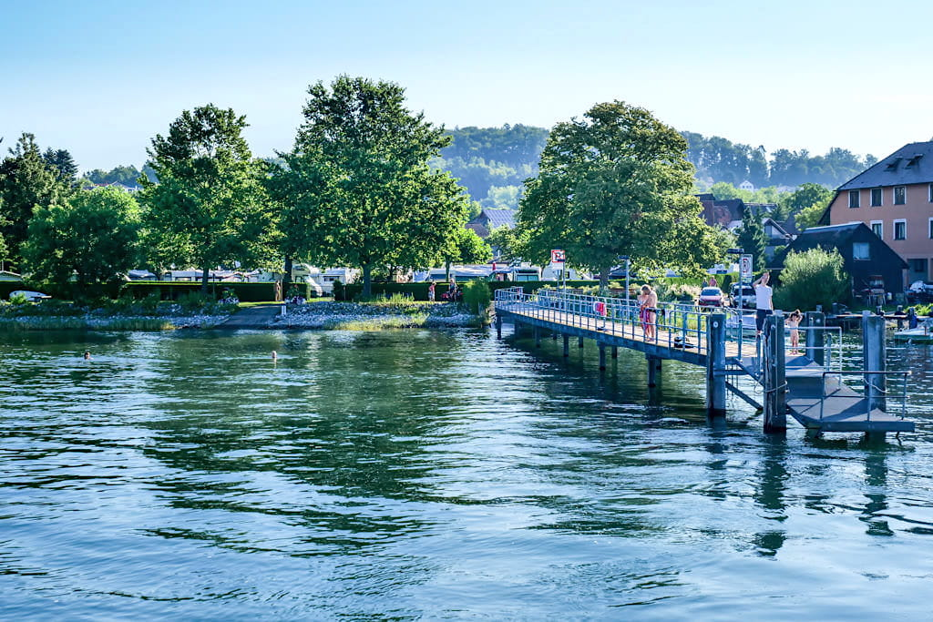 Ladungssteg in Nußdorf bei Überlingen am Bodensee - Baden-Württemberg