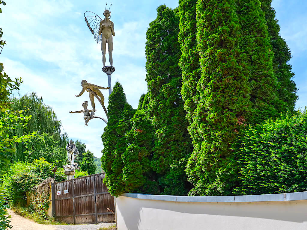 Peter Lenk - Haus & Bildhauer Garten in Bodmann auf dem Lenk-Buckel - Baden-Württemberg