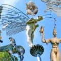 Peter Lenk Skulpturen rund um den Bodensee - Baden-Württemberg
