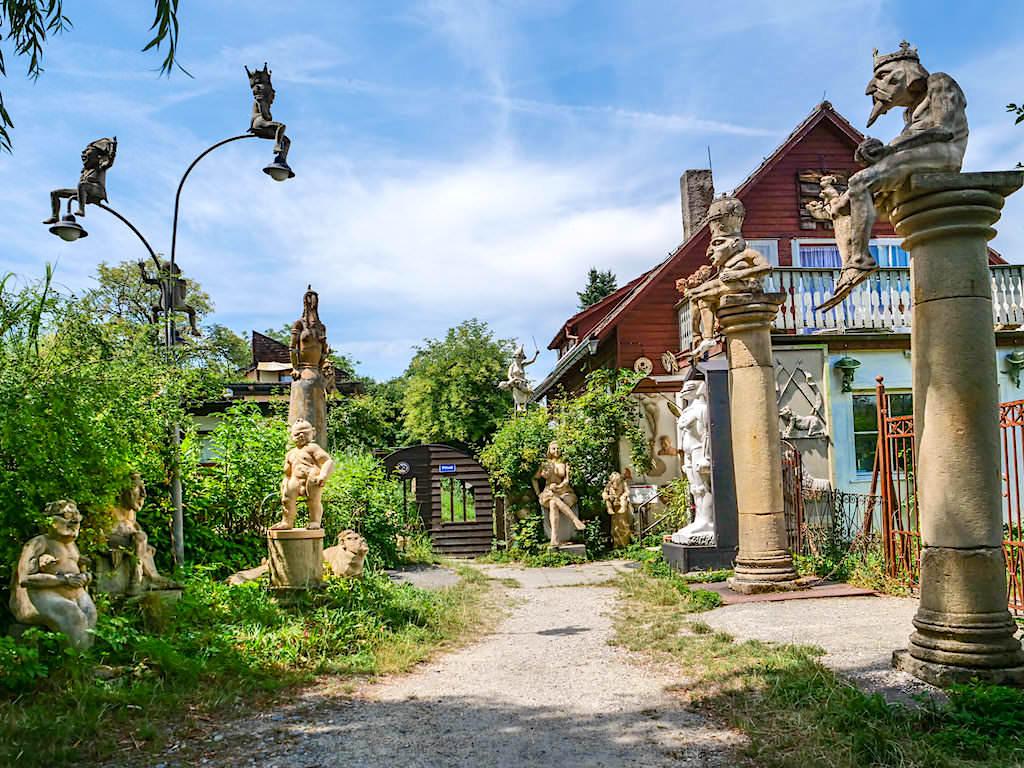 Peter Lenk - Wohnhaus, Galerie & Künstler-Garten - Bodman, Baden-Württemberg