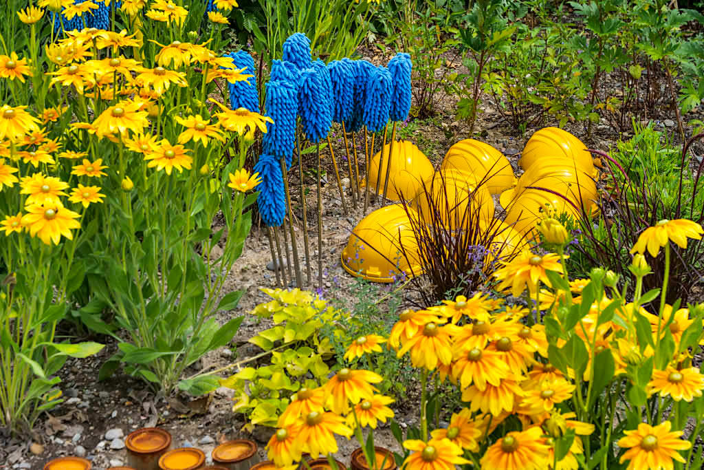 Saisonale Gärten - Gartenkunstprojekt & Studentenwettbewerb auf der Insel Mainau - Baden-Württemberg