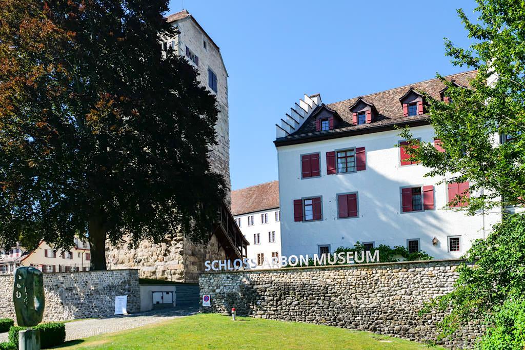 Schloss Arbon & Museum - Dreiländer-Bodensee-Schiffsfahrt mit Zwischenstopp in der Schweiz