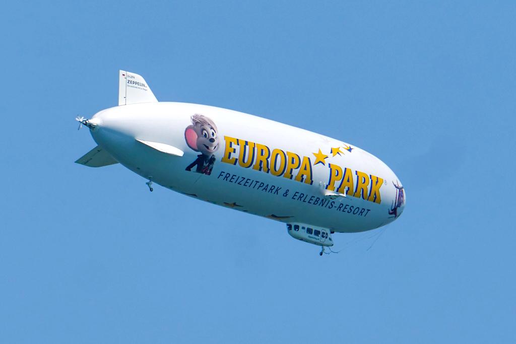 Zeppelin Luftschiff-Fahrten über den Bodensee - Baden-Württemberg