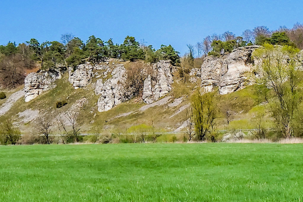 Felsformation 12 Apostel - Naturpark Altmühltal - Bayern