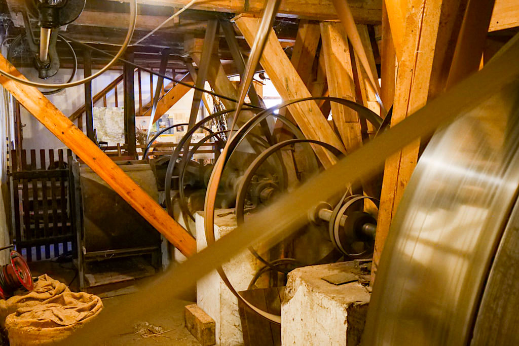 Altmühltaler Mühlenmuseum in Dietfurt - Letzte laufende, historische Mühle im Altmühltal - Bayern