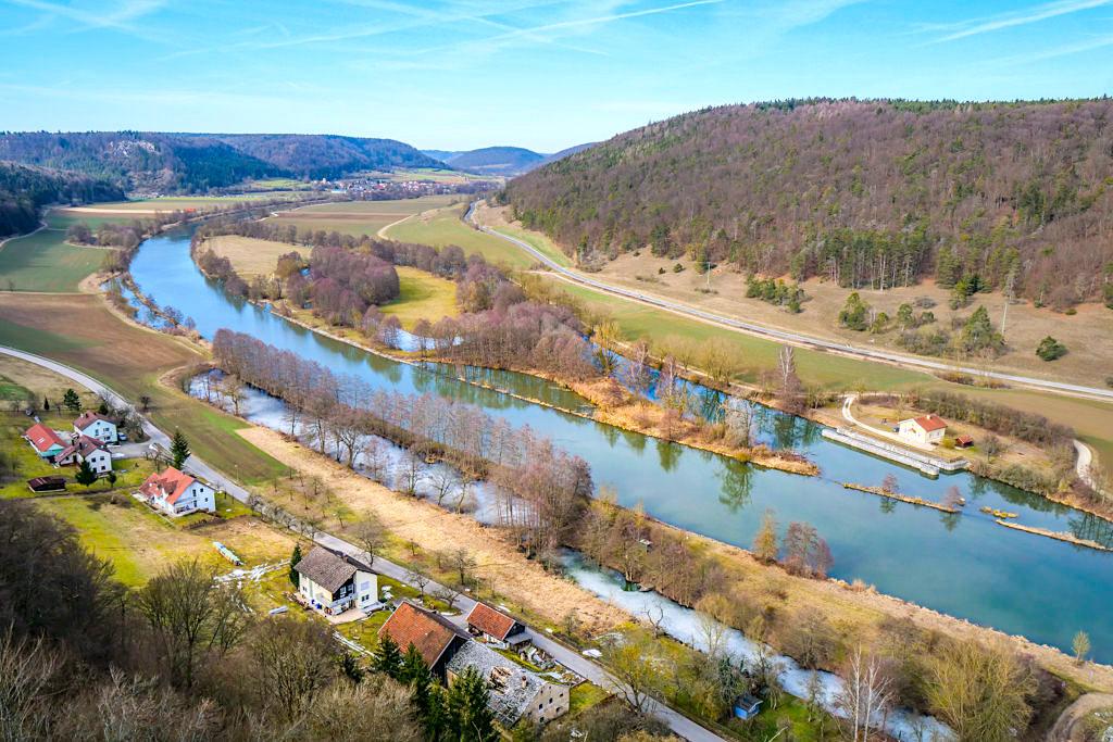Grandioser Ausblick von der Burgruine Eggersberg - Altmühltal Sehenswürdigkeiten - Bayern