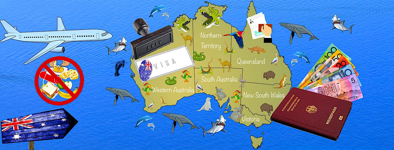 Australien Visum, Einreise, Einfuhrbestimmungen, Zoll & Tax Refund