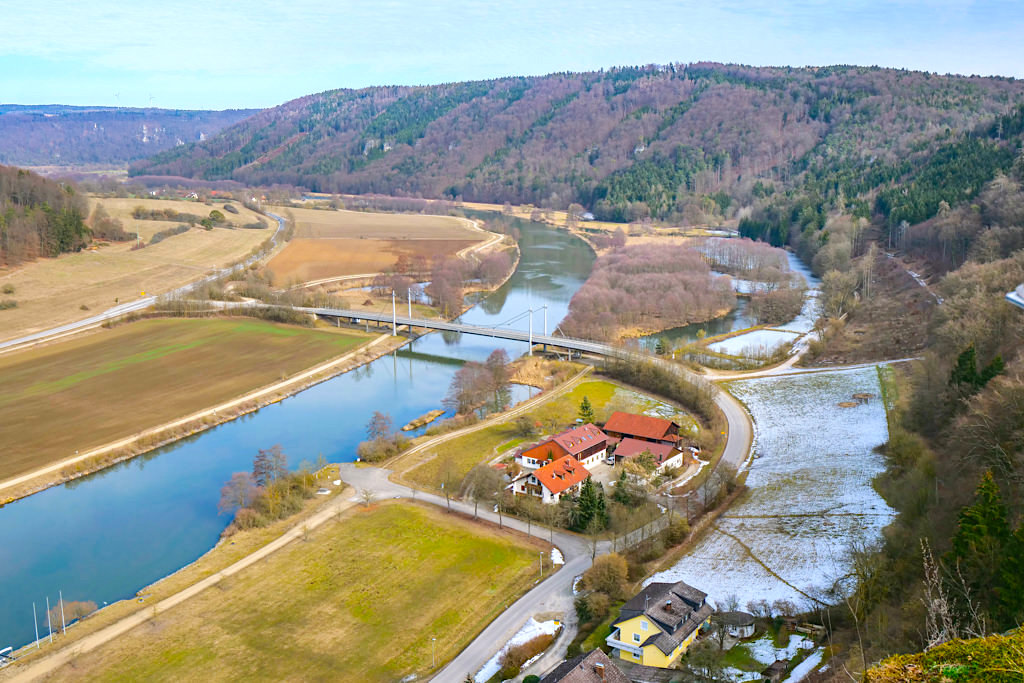 Burgruine Eggersberg - Grandioser Ausblick auf Altmühltal & Main-Donau-Kanal - Bayern