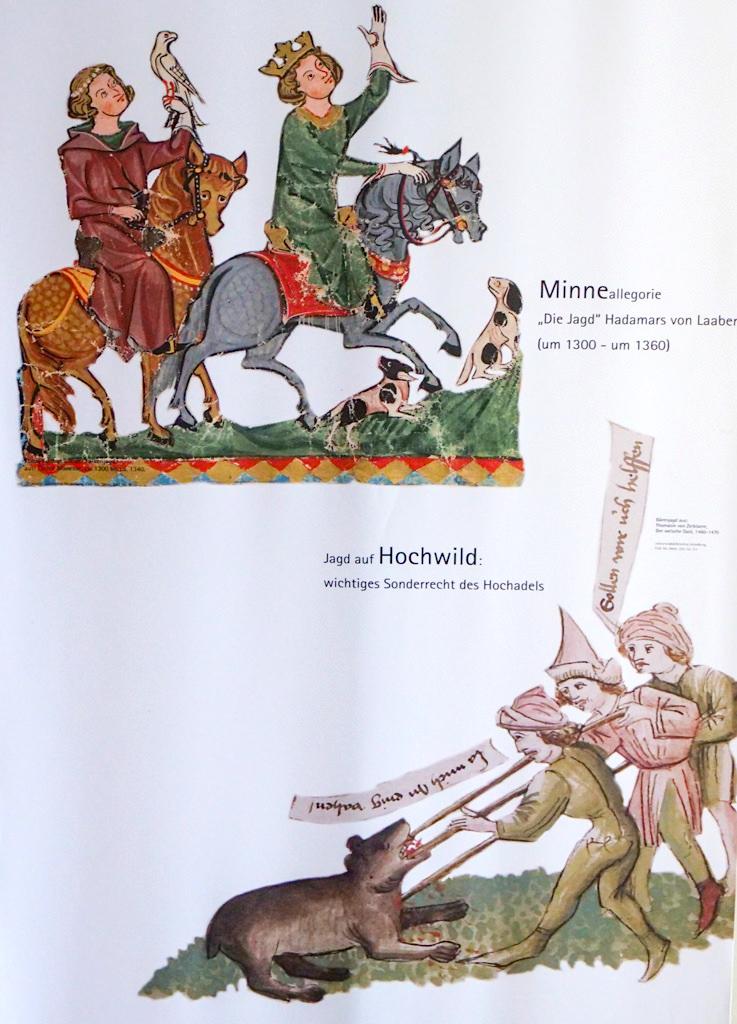 Burg Prunn - Burgführung: Jagdszenen aus dem Mittelalter als Freizeitgestaltung - Altmühltal - Bayern